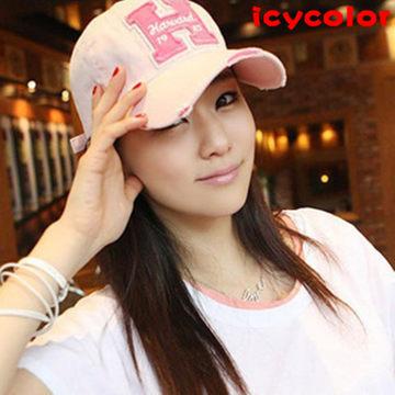 【此款宝贝已下架】韩国男士嘻哈棒球帽 女士夏天韩版潮鸭舌遮阳防晒运动太阳帽子