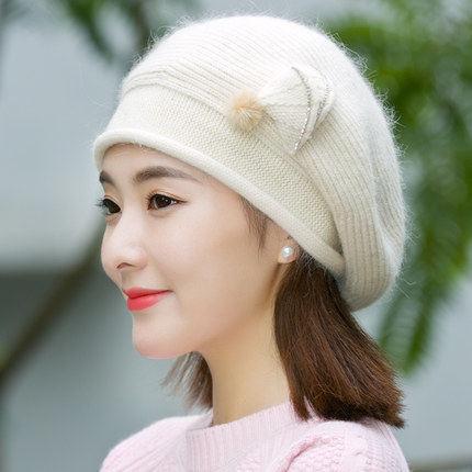 帽子女士秋冬季韩版时